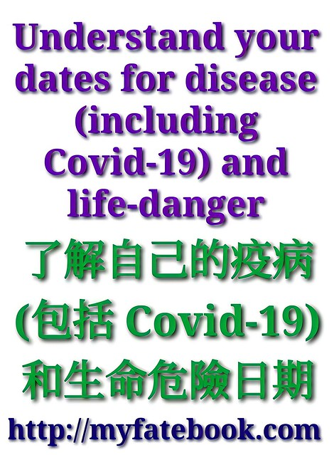 了解自己的疫病日期