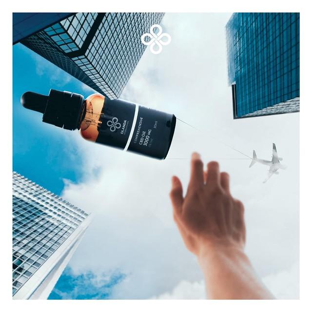 CBD全效消炎配方 Comprehensive Formula 3000mg Oil Drop Olanda International