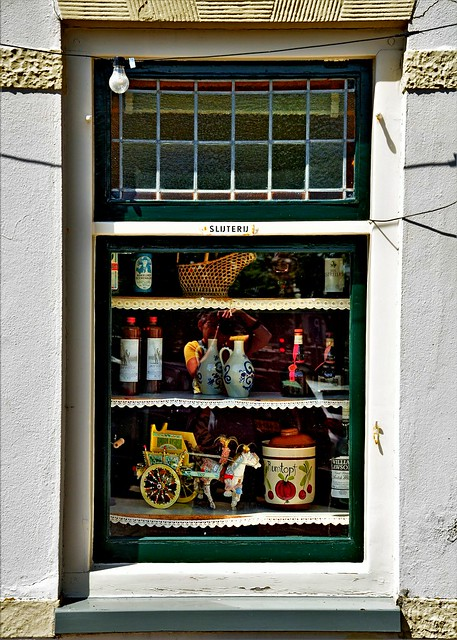 Liquor store Window