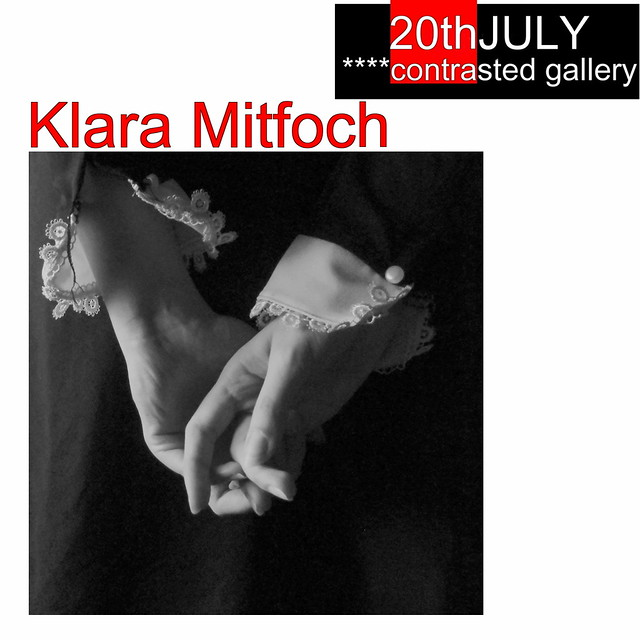 Coming soon to ****contrasted gallery, the photography of Klara Mitfoch! ✼:*゚