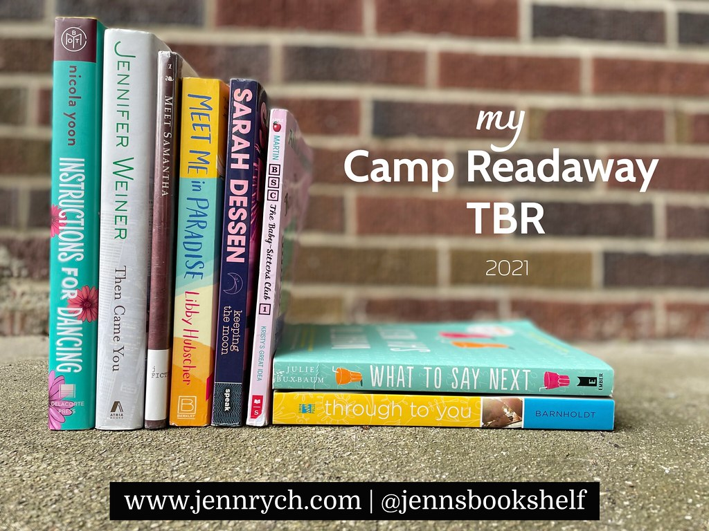 Camp Readaway 2021 reading challenges & reading list!
