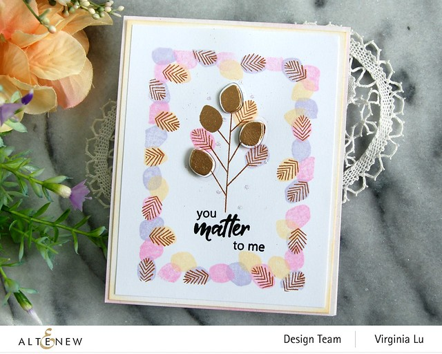 Altenew-MD Tiny Foliage-Antique Gold Embossing Powder-004