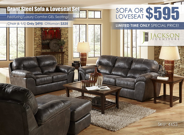 Grant Steel Sofa & Loveseat Set_Catnapper_Jackson_4453_July2021
