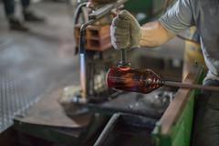 Sellos para marcar piezas de vidrio caliente