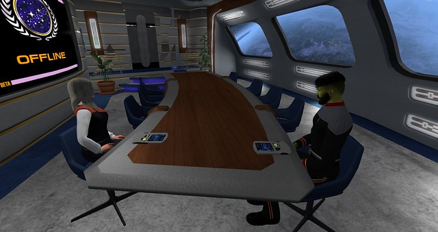 UFS HQ,USS Thor and Rookery Starfleet Roleplay 5