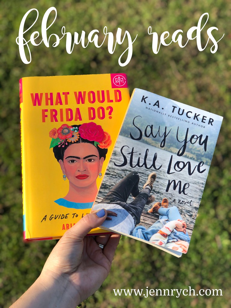 What I read in February of 2021| www.jennrych.com