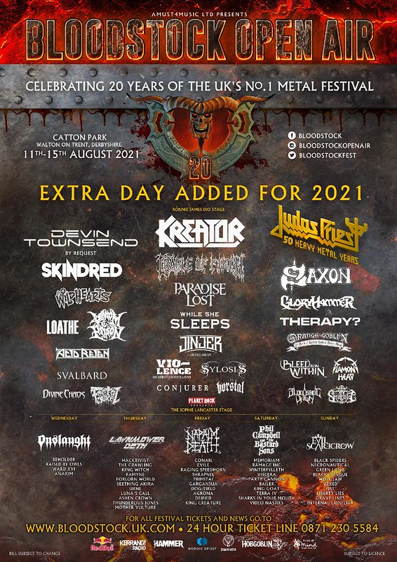 Bloodstock: Last Call for Tickets and More Line Up Changes