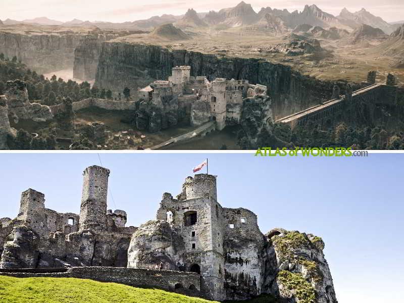 Ogrodzieniec castle finale
