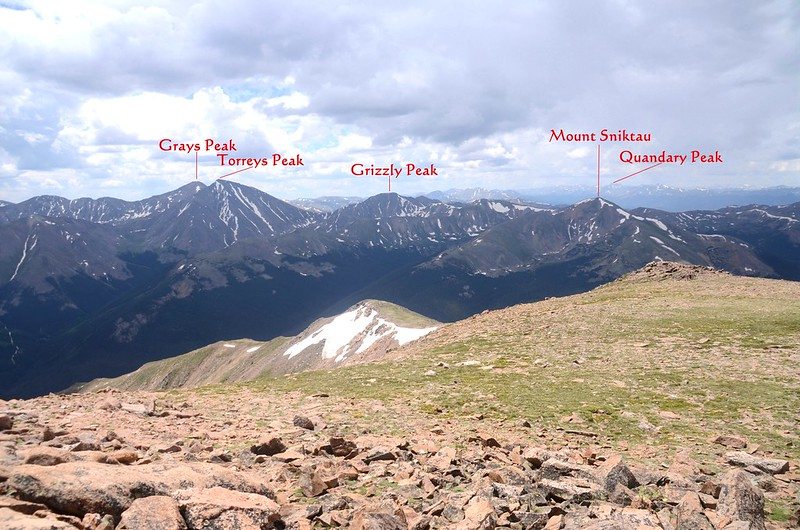 South view from the summit of Mount Parnassus (2)