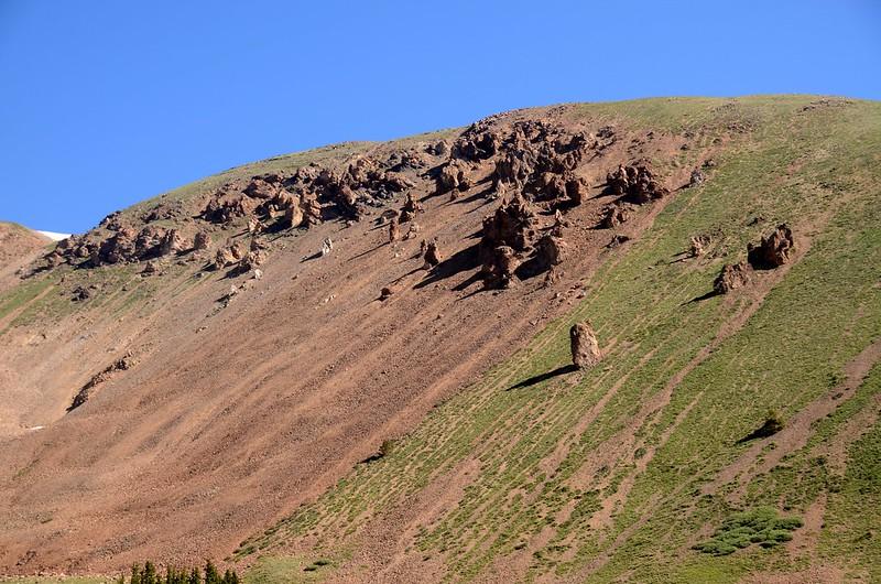 Rock Columns on Woods Mountain