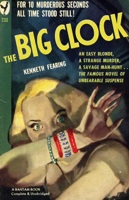 Bantam Books 738 - Kenneth Fearing - The Big Clock