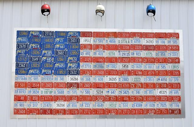 God Bless the USA on Route 66 @ Galena, Kansas