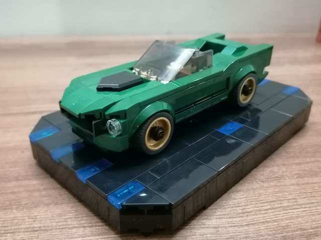 Lego Ford Mustang Modified.