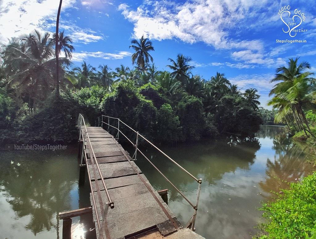 On the way to Kemmannu Hanging Bridge
