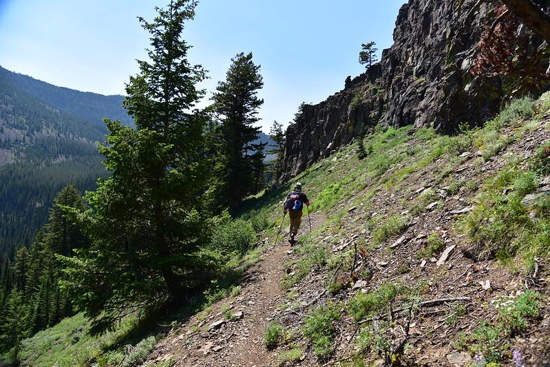 Slide Lake hike