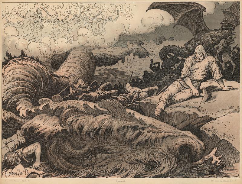 Louis Moe - Ragnarok, 1898