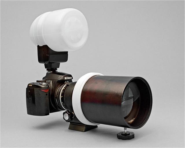 Copy machine lens adaptation