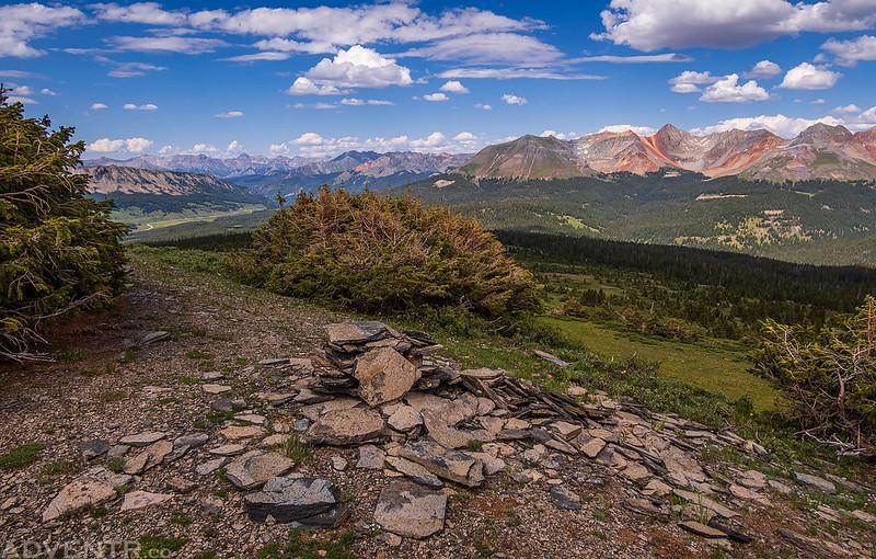 Flattop Mountain Summit