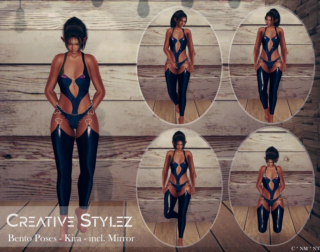 Creative Stylez – Bento Poses – Kira –