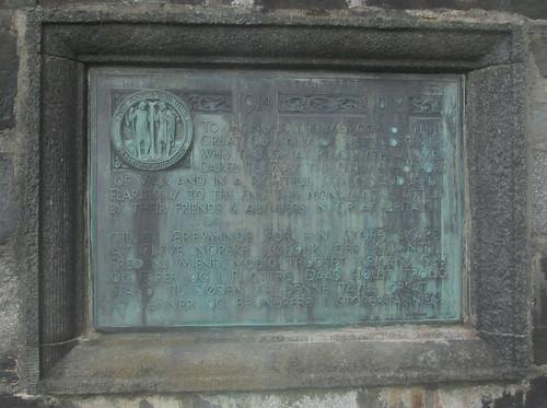 Memorial to Norwegian Sailors of the Great War, Bergen