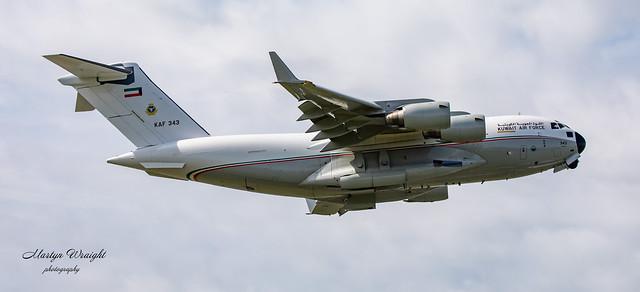 Kuwait Air Force Boeing C-17A Globemaster III
