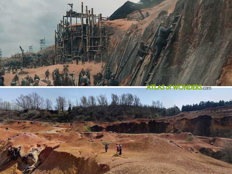 forgatási helyek quarry