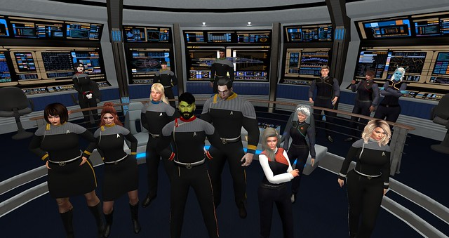 UFS HQ,USS Thor and Rookery Starfleet Roleplay 9