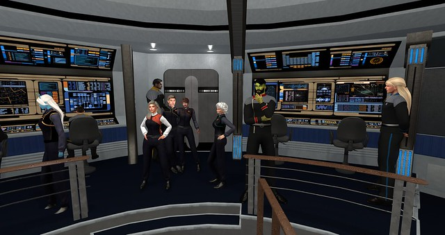UFS HQ,USS Thor and Rookery Starfleet Roleplay 4