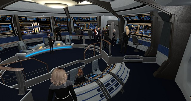 UFS HQ,USS Thor and Rookery Starfleet Roleplay 3