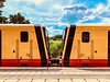 The new Berlin S-Bahn trains kiss each other!