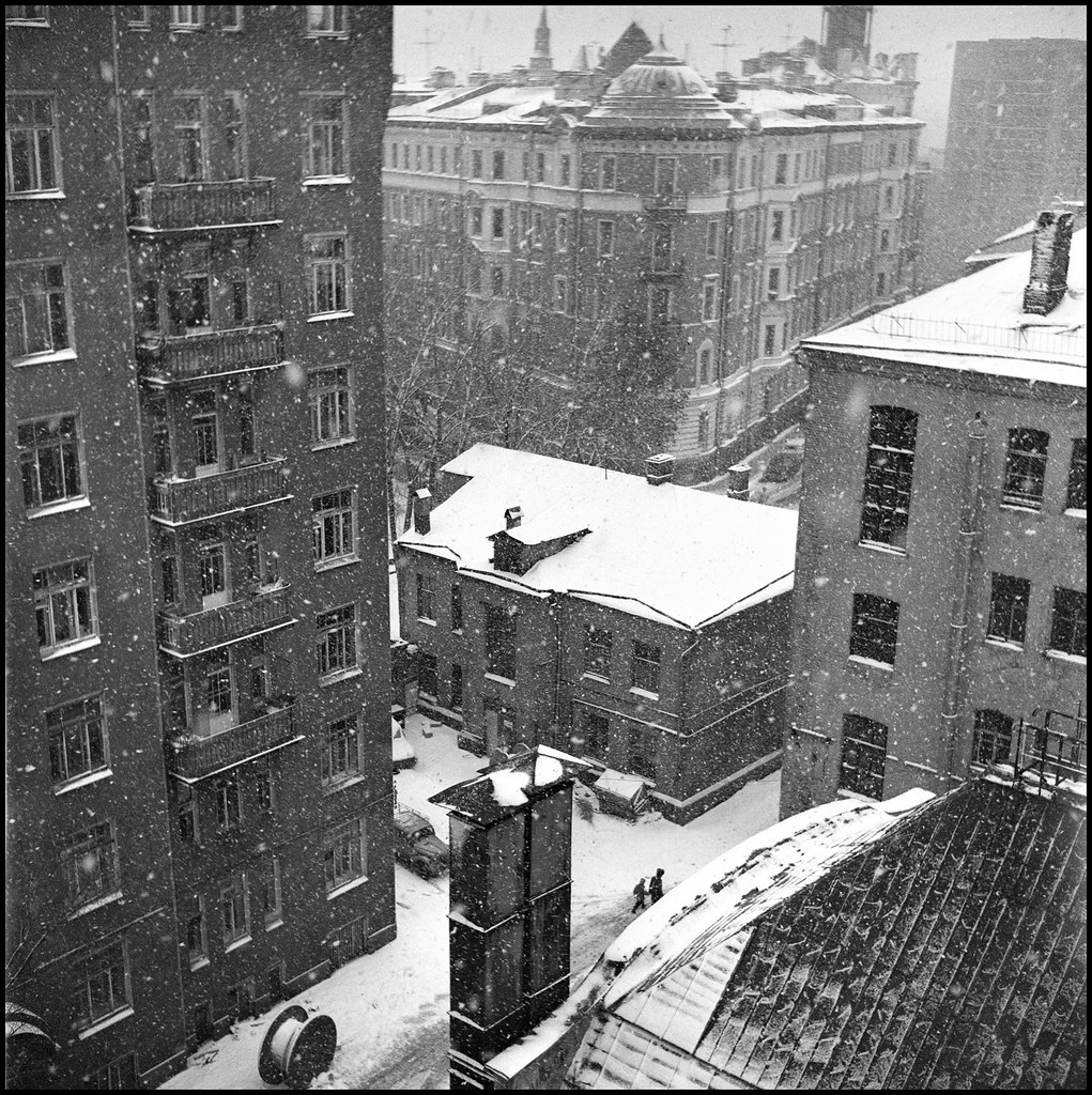 1980. Зима на Мясницкой