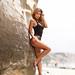 Jazzy in Black Bikini