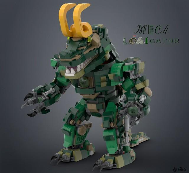 LEGO Mech Lokigator