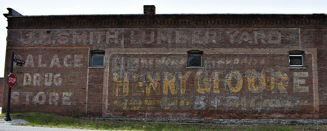 Ghost signs along Route 66 @ Galena, Kansas