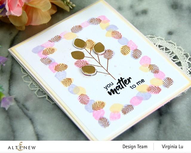 Altenew-MD Tiny Foliage-Antique Gold Embossing Powder-003