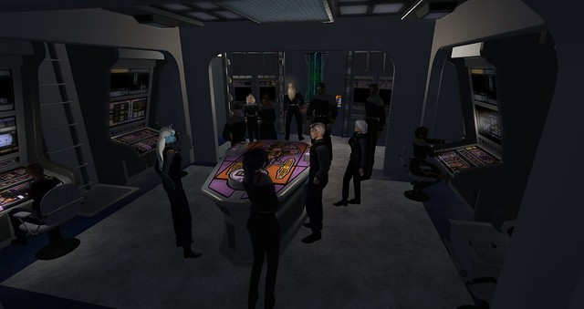 UFS HQ,USS Thor and Rookery Starfleet Roleplay 8