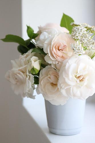 Rosen aus dem Garten