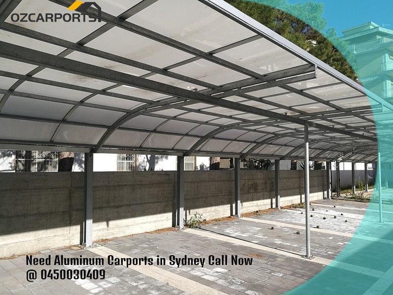 Need Aluminum Carports in Sydney Call Now@ 0450030409