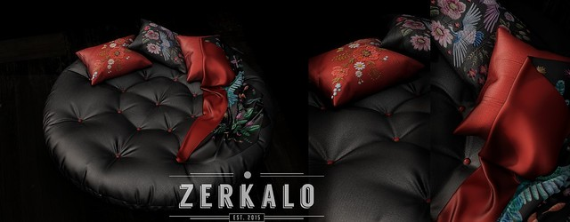 [ zerkalo ] Medan Round Daybed @Kustom9 and FB Giveaway