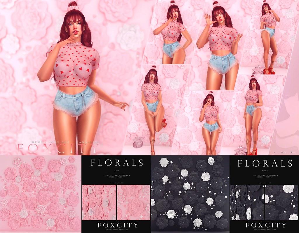 FOXCITY. Kawaii AF & Florals