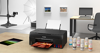 The new ink system in the Pixma G570 and Pixma G670 combines with Canon photo papers to deliver exceptional print longevity, with photos that can resist fading for up to 200 years under the right storage conditions.
