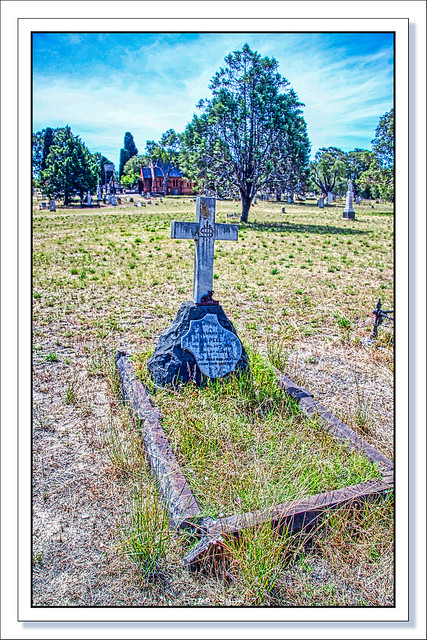 Grave of Thomas Peel Jnr, East Perth Cemetery, Waterloo Crescent, East Perth, Perth, Western Australia