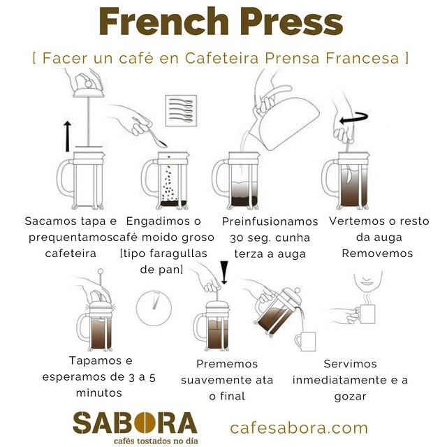 French Press  facer café