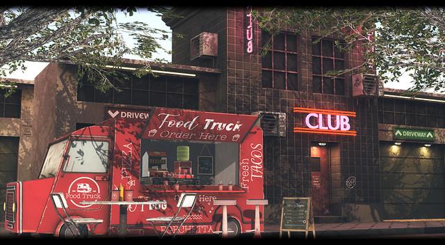 Street Club BackDrop