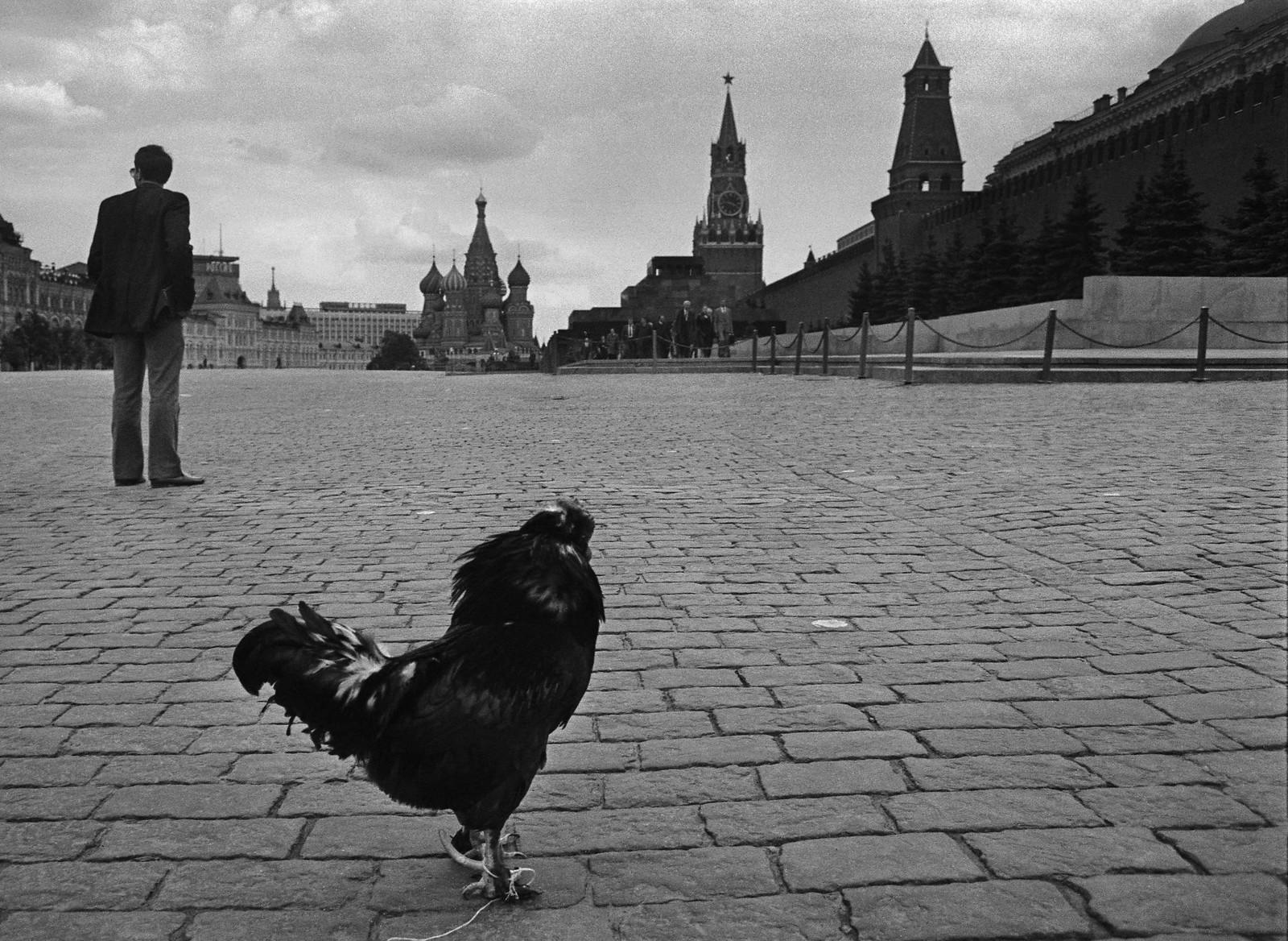 1990-е. Красная площадь