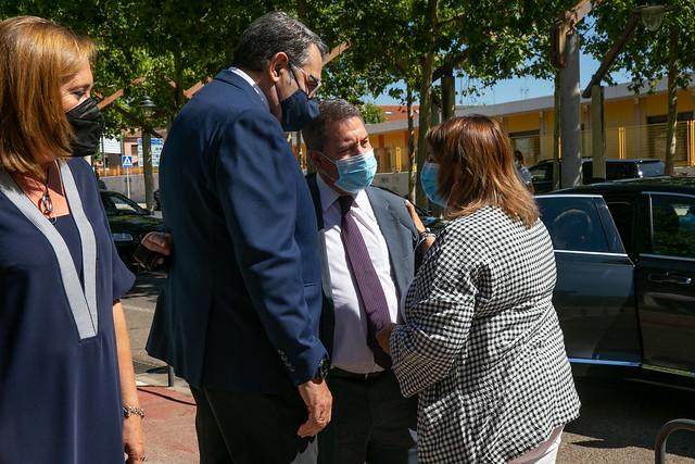 Firma de protocolos de colaboración con la UCLM y el Ayuntamiento de Talavera de la Reina