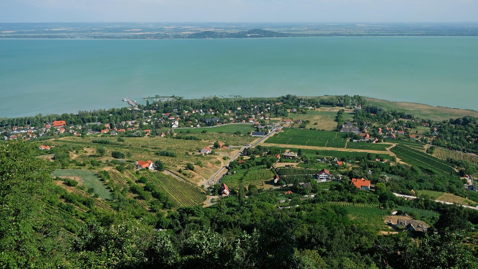 Ranolder-kereszt, Badacsony, Balaton Uplands, Hungary