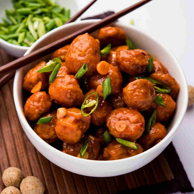 Soya Chunks Manchurian Recipe