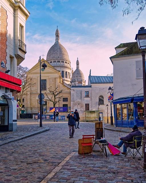 Montmartre - Sacré-Cœur -  Eglise Saint-Pierre de Montmartre