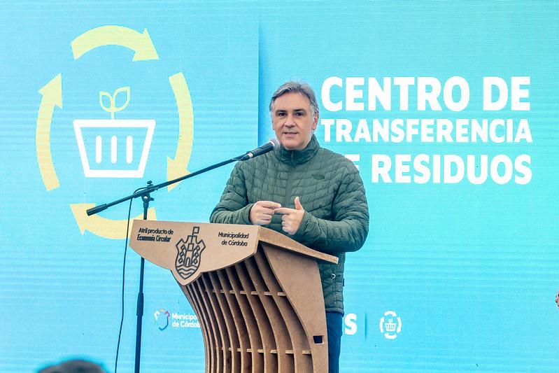 Primer Centro de Transferencia de Residuos de la ciudad